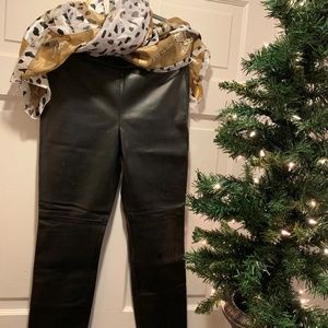 NWT~ Talbots~ Faux Leather Pants (4P)